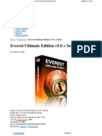Chave de Licença - Everest