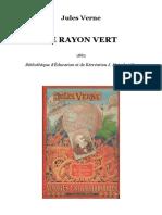 Jules Verne - Le Rayon Vert