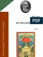 Jules Verne - Le village aérien