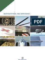 Bundeswehr, Waffensysteme und Großgeraet