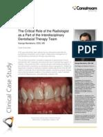 Carestream - Perio Clinical Case Study - June 2012