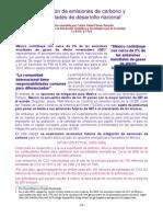 1-Cambio Climático -Mitigación de efectos de emisiones de carbono-Resumen por Carlos Javier  Flores Saracho