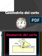 Geometría del corte