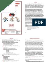 Sample Pre-study Bls 2012