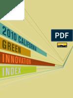 2010 Green Innovation Index