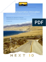 Driving Transportation Innovation