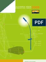 Green Innovation Index 2009
