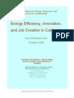 UCB Energy Innovation and Job Creation 2008