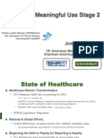 Navigating Meaningful Use Stage 2 - Sept 2012