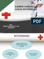 manajemen darurat pada kasus intoksikasi