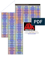 2012 Tier Fantasy Football Cheat Sheet 8-28