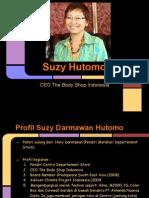 Profil Suzy Hutomo ( the Body Shop Indonesia)