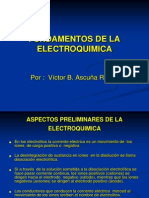 ELECTROQUIMICA ,  PRESENTACION