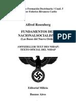 Rosenberg - Fundamentos Del Nacionalsocialismo