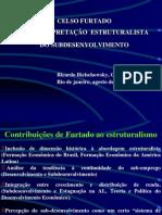 Celso Furtado e a interpretaçao estruturalista do subdesenvolvimento