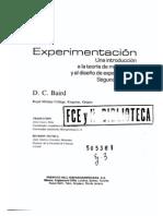 Experimentacion Baird