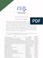 ISP - Alerta sobre Metilfenidato