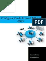 Configuración de firewall ASA