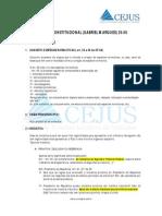 [Direito Processual Civil] Resumão Jurídico - Processo Civil