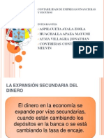 La Expansion secundaria del dinero