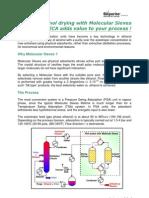 CECA Technical for Ethanol Drying Rev1