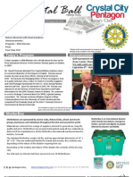 Aug 29, 2012 Weekly Bulletin - Crystal City-Pentagon Rotary Club