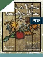 Infomativo de Talleres Permacultura Urbana BIOURBANIZANDO