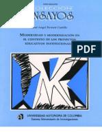 Modernidad y Modernizacion en El Contexto de La Formulacion de Los Pe2
