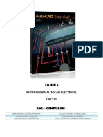 AutoCAD Electrical Graphical Interface