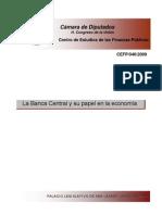 El Papel de La Banca Central en La Economia