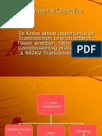 Transmission lineTower  Constrcution