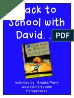 David Goes to School_pre-k