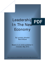 Leadership in the new economy