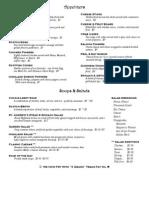 menu 2012 oct