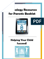 Technology Resources for Parents Booklet