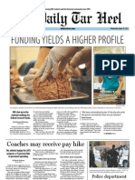 The Daily Tar heel for August 29, 2012