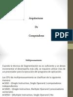 Arquitecturas de computo - multiprocesamiento