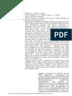 Sentenca do Dias Toffoli advogando e defendendo os  interesses contratos do Duda Mendonca  no TCU - MENSALAO TC-012-614-2005-2