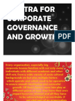 Mantra for Corporate Governance