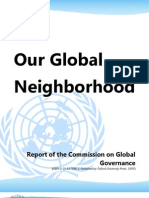 Our Global Neighborhood - Commission on Global Governance