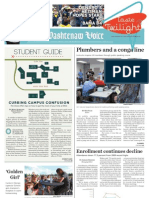 The Washtenaw Voice August 27, 2012 Issue