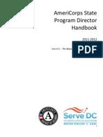 AmeriCorps State Program Director's Handbook