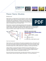 Electro Tek Power Factor Studies