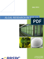 Algal Research in the UK - July 2011