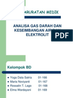 Analisa Gas Dan Keseimbangan Air Dan Elektrolit
