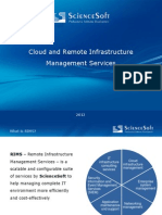 [en] Cloud and RIM Services