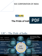 Strength of Lic of India