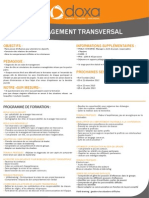 Formation Management transversal 2012-2013
