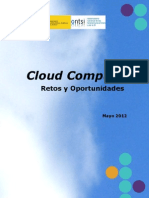 Cloud Computing. Retos y Oportunidades