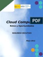 Resumen Ejecutivo de Estudio Sobre La Nube